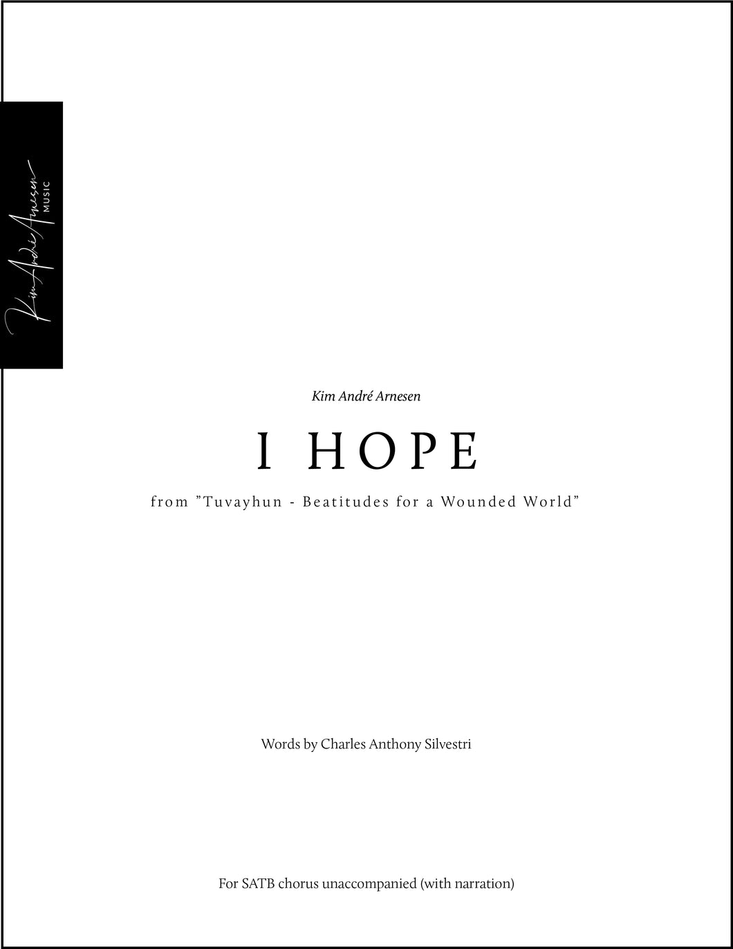 I Hope (Movement 6)
