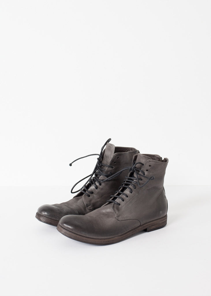 Listello Lace-Up Boot in Slate Grey