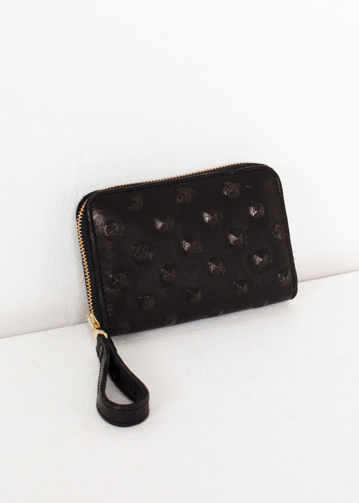 Elodie Leather Wallet in Black
