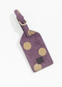Oscar Luggage Tag in Blueberry