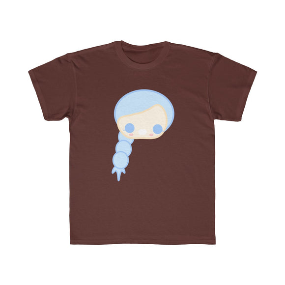 Long Hair Girl Tee