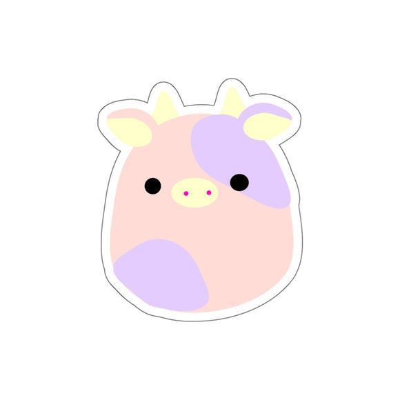 Moo The Cow Stickers