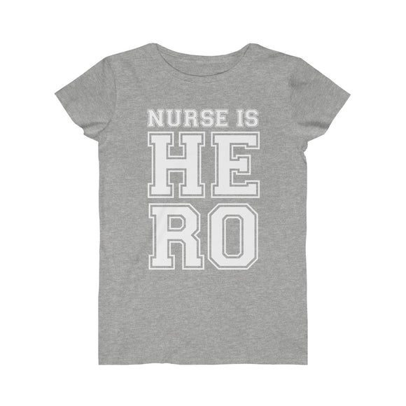 Nurse is HERO Jersey Tee