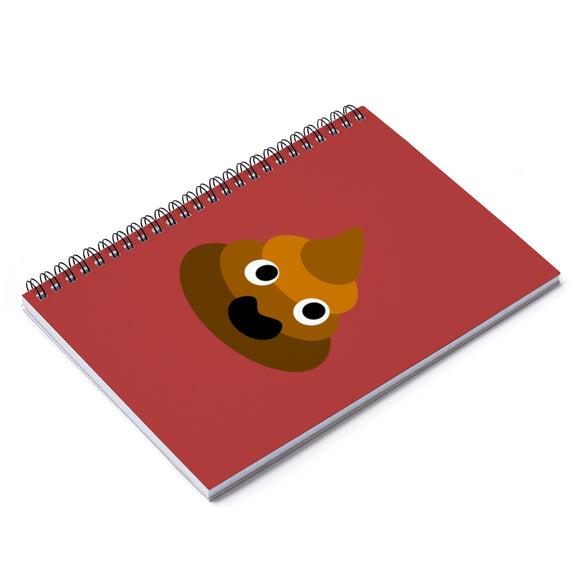Pao The Poop Spiral Notebook - Ruled Line