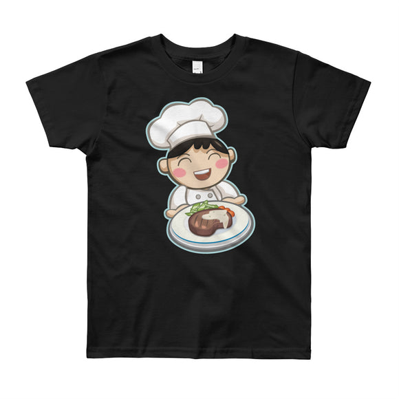 Boy Chef Short Sleeve T-Shirt