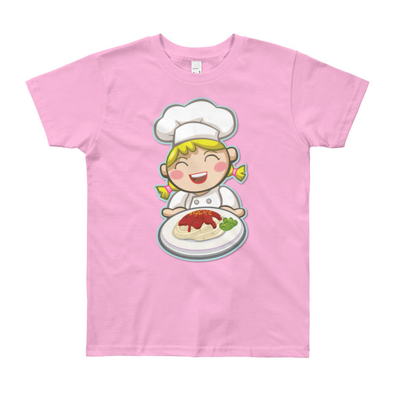 Girl Chef Short Sleeve T-Shirt