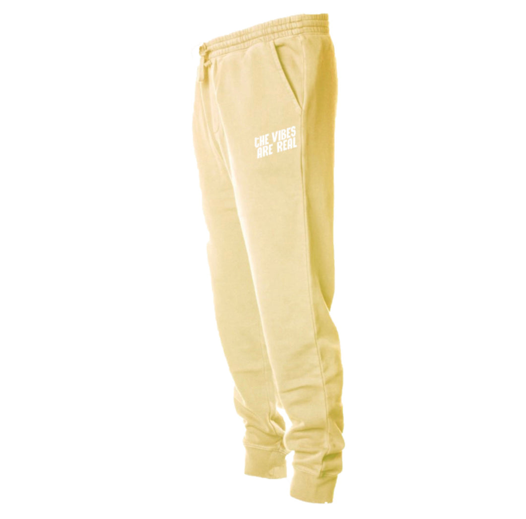 The Vibe Are Real Yellow Sweatpants