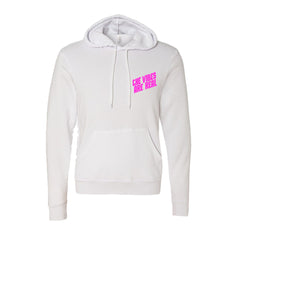 The Vibes Are Real Sweetheart White Hoodie