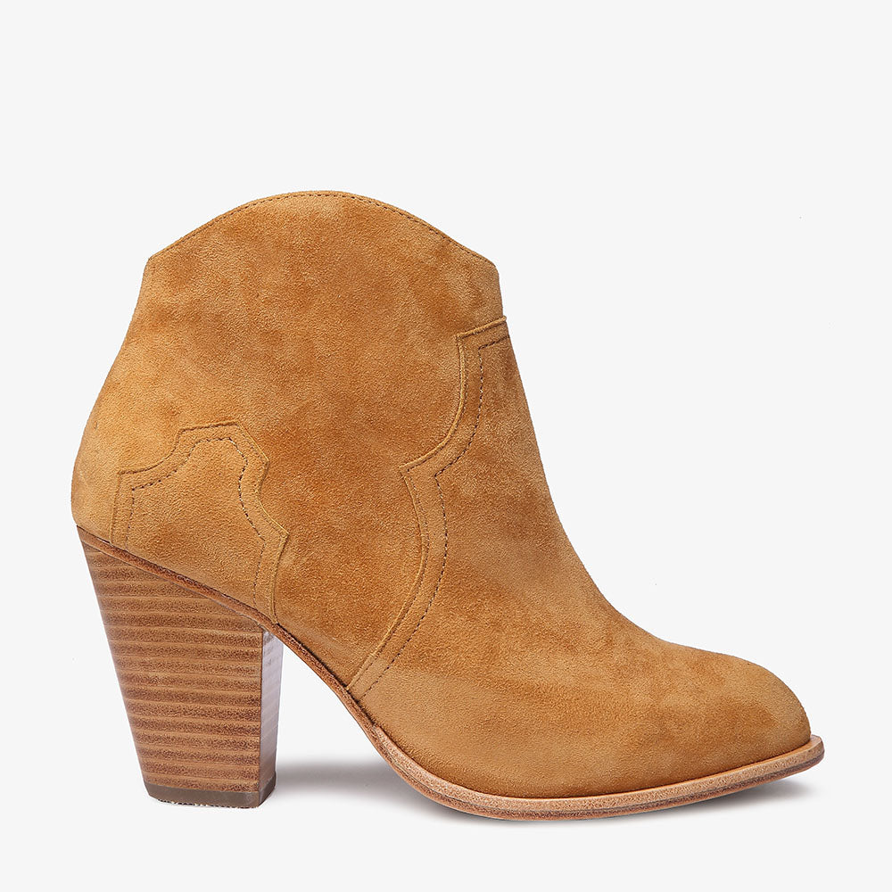 Kate Rust Suede Boot