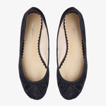Tina Navy Calf Hair Ballet Flat