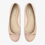 Grace Blush Leather Ballet