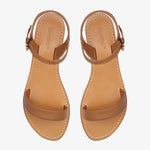 Mim Tan Leather Sandal