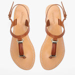 Heidi Fishtail Tan Sandal