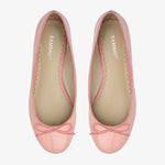 Tina Pale Pink Patent Leather Ballet Flat