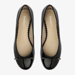 Grace Black Patent Leather Ballet