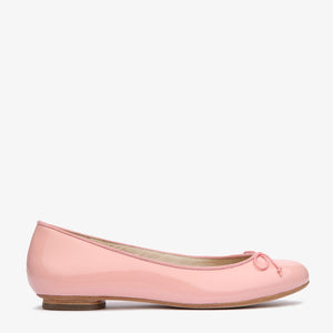 Tina Pale Pink Patent Leather Ballet