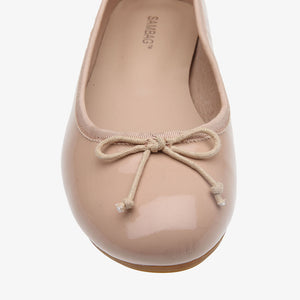 Natalie Blush Patent Leather Ballet