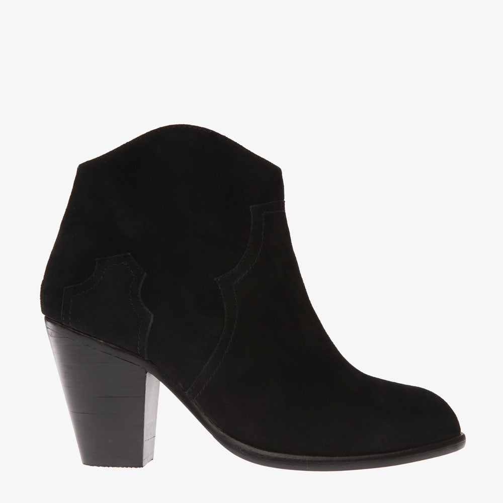 Kate Black Suede Boot