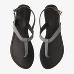 Heidi Smoke Leather Sandal