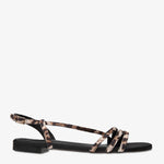 Rosaria Leopard Print Leather Sandal