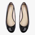 Tina Black patent leather