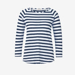 Navy Stripe Long Sleeve Jersey