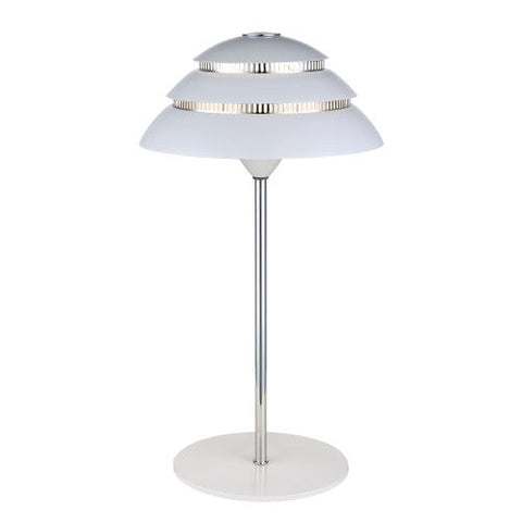 Halo Design Shells Bordlampe Hvid-Krom
