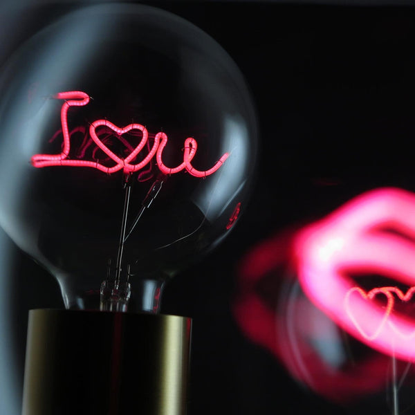 "Message In The Bulb LED ""I Love You"""