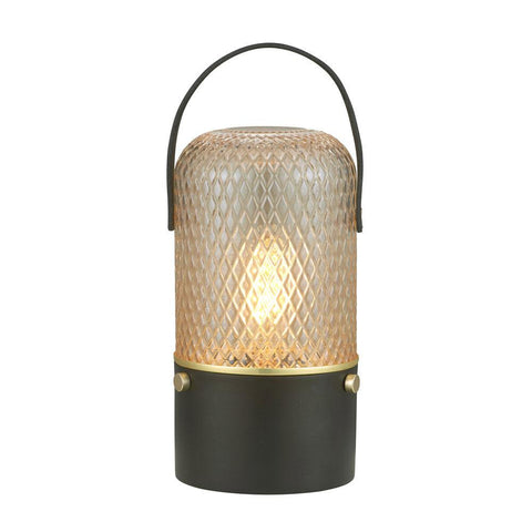 Halo Design Amber Bordlampe