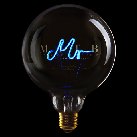 "Message In The Bulb LED ""Mr"""