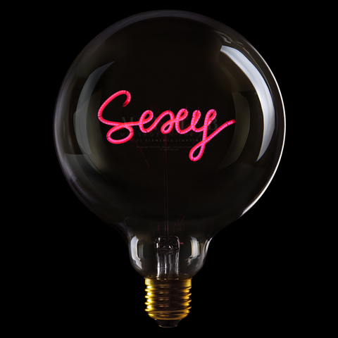 "Message In The Bulb LED ""Sexy"""