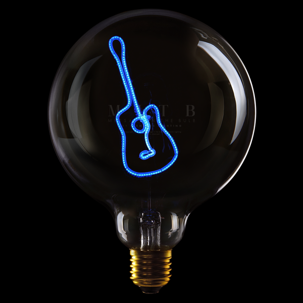 "Message In The Bulb LED ""Guitar"""