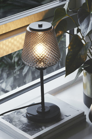 WATT A LAMP Damn Fashionista Bordlampe Smoke Ø15