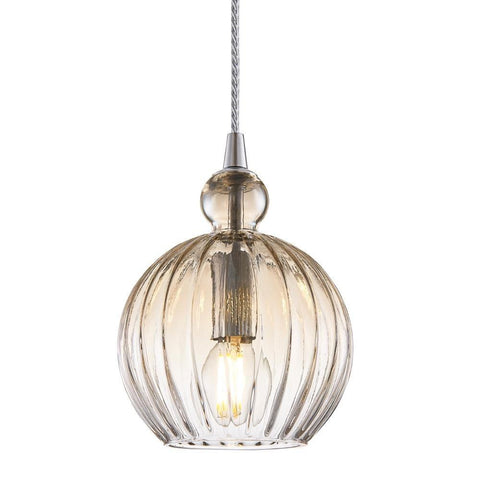 Halo Design Ball Ball Pendel Ø15 Cognac