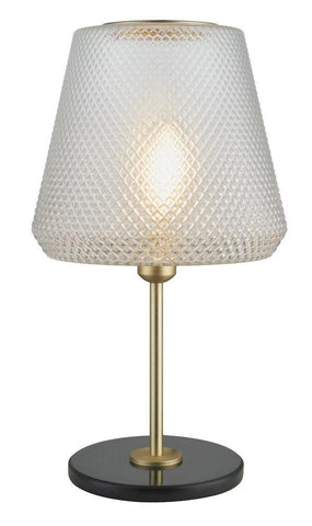 WATT A LAMP Damn Fashionista Bordlampe Messing Ø30