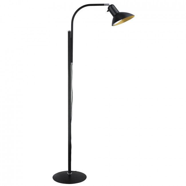El-Light Legend Sort Gulvlampe