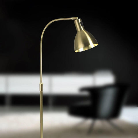El-Light Angora Gulvlampe Messing