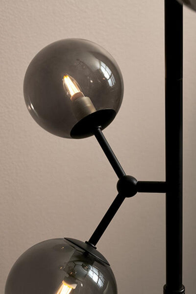 Halo Design Atom Gulvlampe Smoke