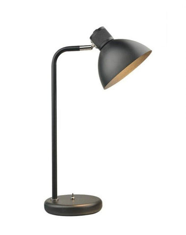 Halo Design Bridge Bordlampe Sort