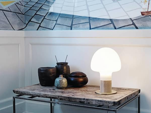 WATT A LAMP Mush Bordlampe Ø25 Opal