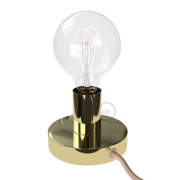 Posaluce Bordlampe Messing