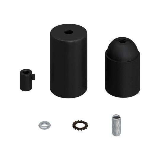E27 Cylinder Fatnings Kit Mat Sort