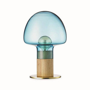 WATT A LAMP Mush Bordlampe Ø25 Blue