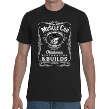 Brand New Muscle Car T-Shirt Mens Design 6 White Ink FRONT ONLY