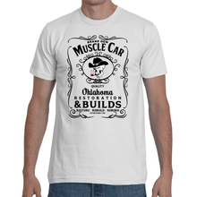 Brand New Muscle Car T-Shirt Mens Design 6 Black Ink FRONT ONLY
