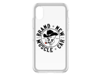 Brand New Muscle Car iPhone X Case Clear Design 1