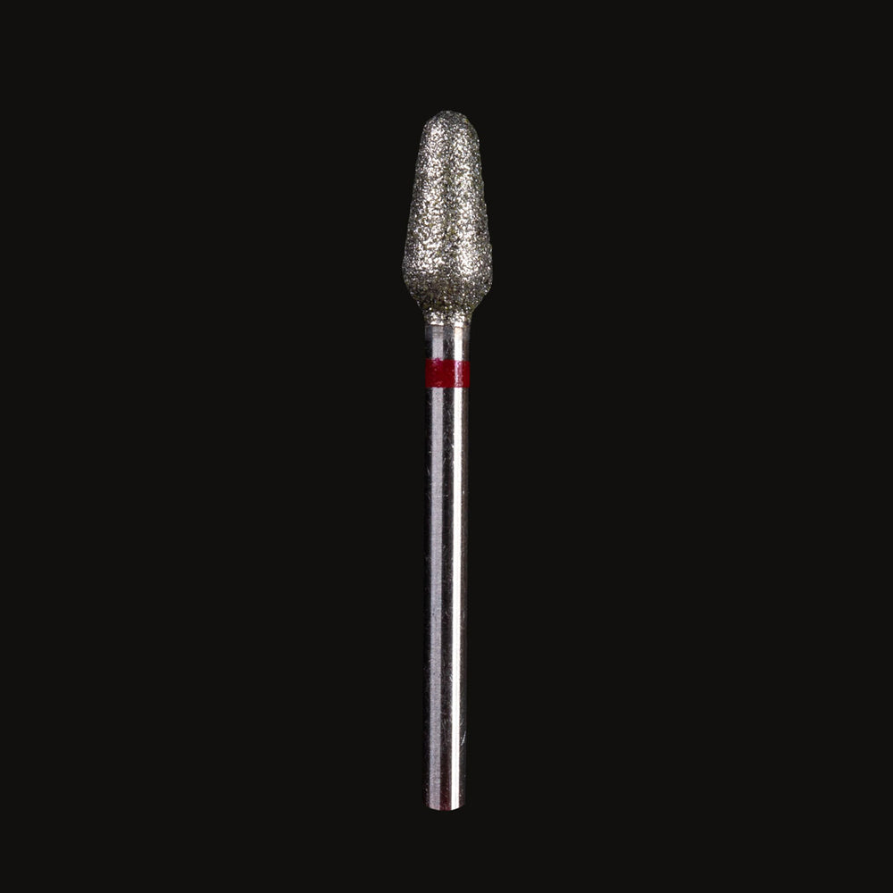 "Nail drill bit ""BIG MICROPHONE"" - RED"