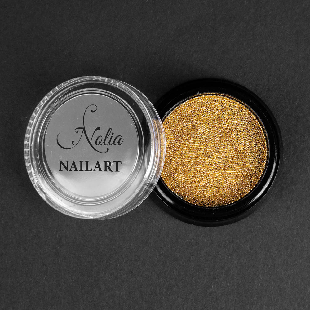 Caviar metallic GOLD - 0.6mm