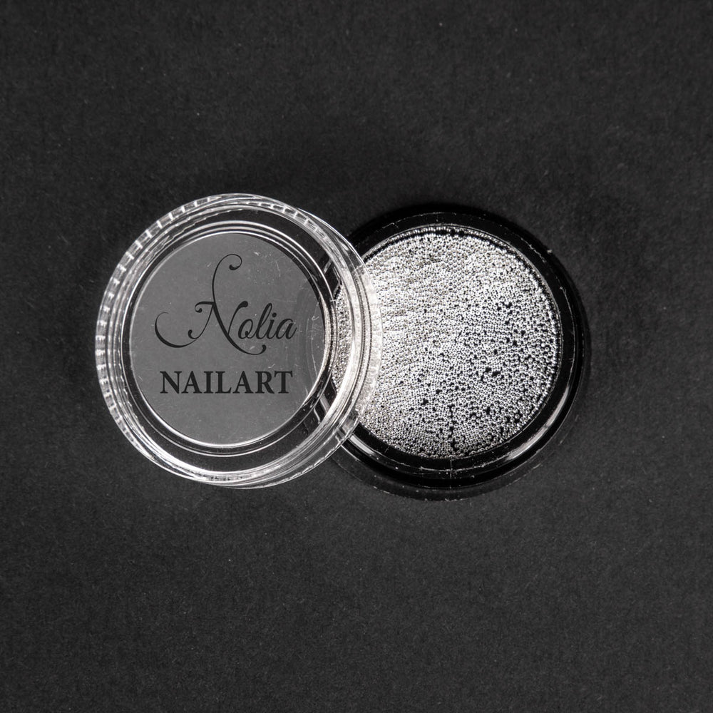Caviar metallic SILVER - 0.4mm