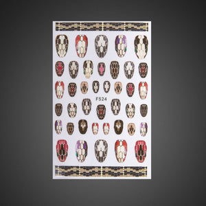 Sticker Nailart F524